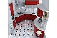 Кухня 5 кв.м с угловой варочной поверхностью или мойкой